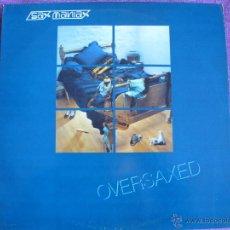 Discos de vinilo: LP - OVERSAXED - SAX MANIAX (PORTUGAL, PENTHOUSE RECORDS SIN FECHA). Lote 42226210