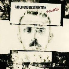 Discos de vinilo: LP PABLO UND DESTRUKTION SANGRIN VINILO NACHO VEGAS ASTURIAS DISCOS HUMEANTES. Lote 143393993