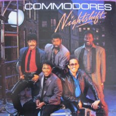 Discos de vinilo: LP - COMMODORES - NIGHTSHIFT (USA, MOTOWN RECORDS 1985). Lote 42227016