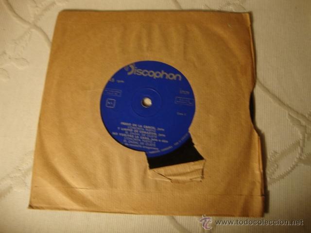 Discos de vinilo: DISCO SINGLE EP ES DE LOS AÑOS 60/70 - Foto 2 - 42227439