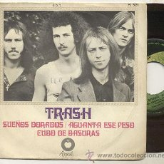 Discos de vinilo: SINGLE 45 RPM / TRASH ( BEATLES ) SUEÑOS DORADOS // EDITADO POR APPLE SPANISH 1969. Lote 42228096