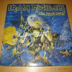 Discos de vinilo: DOBLE LP - IRON MAIDEN - LIVE AFTER DEATH. Lote 42231716