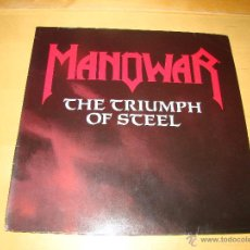 Discos de vinilo: DOBLE LP - MANOWAR - THE TRIUMPH OF STEEL. Lote 42231866