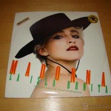 Discos de vinilo: MAXI SINGLE - MADONNA - LA ISLA BONITA. Lote 42232005
