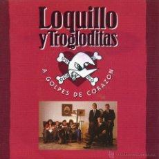 Discos de vinilo: LOQUILLO Y LOS TROGLODITAS, SG, A GOLPES DE CORAZÓN + 1 , AÑO 1992. Lote 42233208
