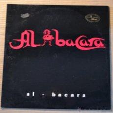 Discos de vinilo: AL BACARA. PIQUERAS. MIRET. PRODUCCION PIROPO. BOL RECORDS 1994.. Lote 42246377