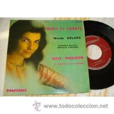 Discos de vinilo: NICOLE DELARC / TWISTED ET CHATE / GOLF MADISON 1960 !! ORG EDT FRANCES !! EXC. Lote 42254836