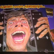 Discos de vinilo: LIVE AND HEAVY . Lote 42255590