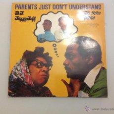 Discos de vinilo: PARENTS JUST DON´T UNDERSTAND PRINCIPE DE BELL AIR THE FRESH PRINCE . Lote 42256066