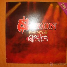 Discos de vinilo: LP - SAXON - ROCK N ROLL GYPSIES. Lote 42256131