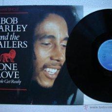 Discos de vinilo: BOB MARLEY & THE WAILERS ONE LOVE / PEOPLE GET READY MAXI 12 GERMANY @ REGGAE @ COMO NUEVO. Lote 277436328