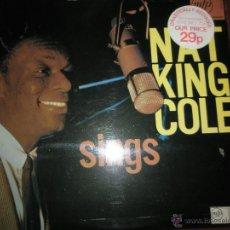 Discos de vinilo: =LP-VINILO-GRAN BRETAÑA-NAT KING COLE-SINGS-MFP/EMI-12 TEMAS-1960S-BUEN ESTADO.. Lote 42264304