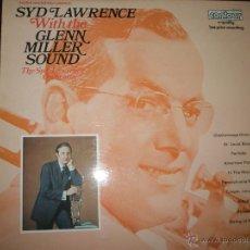 Discos de vinilo: LP-VINILO-GRAN BRETAÑA-SYD LAWRENCE ORCHESTRA WITH GLENN MILLER SOUND-1969-CONTOUR-11 TEMAS-VER FOTO. Lote 42264381