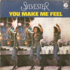 Discos de vinilo: VENDO SINGLE DE (SILVESTER).. Lote 42266315