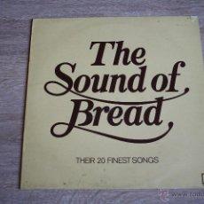 Discos de vinilo: THE SOUND OF BREAD,ELEKTRA REC,1977,1ª EDICCION ORIGINAL MADE IN UK, LP,. Lote 42271406