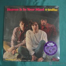 Discos de vinilo: TRAFFIC LP HEAVEN IS IN YOUR MIND/MR.FANTASY EDICION MONO 1967 NUEVO PRECINTADO. Lote 42274140