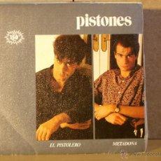 Discos de vinilo: PISTONES - EL PISTOLERO / METADONA - MR DISCOS MB-105862 - 1983. Lote 42274630