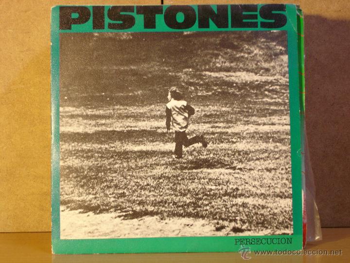 PISTONES - PERSECUCION / GALAXIA - ARIOLA A-106097 - 1984 - PROMOCIONAL (Música - Discos - Singles Vinilo - Grupos Españoles de los 70 y 80)