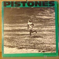 Discos de vinilo: PISTONES - PERSECUCION / GALAXIA - ARIOLA A-106097 - 1984 - PROMOCIONAL. Lote 42274684