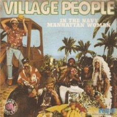 Discos de vinilo: VENDO SINGLE DE VILLAGE PEOPLE.. Lote 294571038