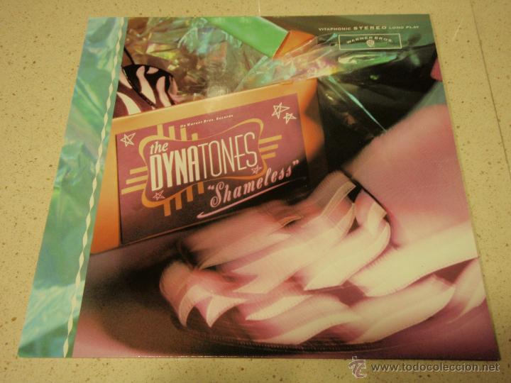 THE DYNATONES ( SHAMELESS ) 1988 - GERMANY LP33 WARNER BROS RECORDS (Música - Discos - LP Vinilo - Pop - Rock - New Wave Extranjero de los 80)