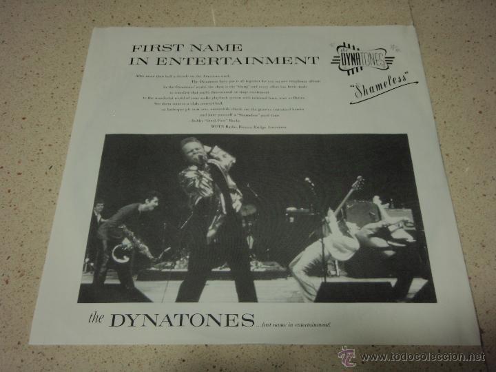 Discos de vinilo: THE DYNATONES ( SHAMELESS ) 1988 - GERMANY LP33 WARNER BROS RECORDS - Foto 3 - 42275225