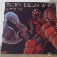 Discos de vinilo - Billion Dollar Babies - Battle Axe LP 23 91 273 Spain ALICE COOPER GROUP - 42277253