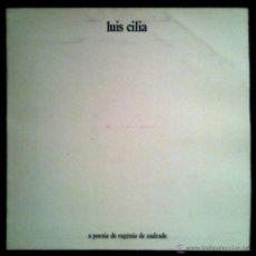 Discos de vinilo: LUIS CILIA - O PESO DA SOMBRA - A POESIA DE EUGENIO DE ANDRADE - PORTUGAL LP DIAPASAO 1980 - VINYL. Lote 42284443