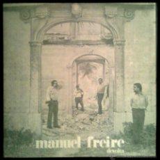 Discos de vinilo: MANUEL FREIRE - DEVOLTA - PORTUGAL LP DIAPASAO 1978 - COMO NUEVO / NEAR MINT. Lote 42285370