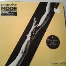 Discos de vinilo: DEPECHE MODE. BLASPHEMOUS RUMOURS (4-TRACK SINGLE). Lote 42286275
