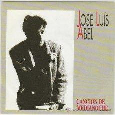Discos de vinilo: JOSÉ LUIS ABEL, CANCIÓN DE MEDIANOCHE..EDICITADO POR VIRGEN EN 1993. Lote 42286708