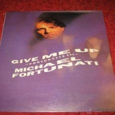 Discos de vinilo: MICHAEL FORTUNATI LP, FORTUNATI´S 1ST, DIFICIL ITALO DANCE, DISCO 80. Lote 42287995