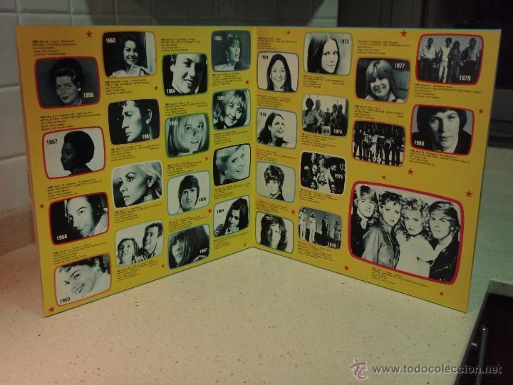 Discos de vinilo: Various ?– Eurovision Gala - 29 Winners - 29 Worldsuccesses 2LPS NORWAY 1981 RED CROSS - Foto 3 - 42291827