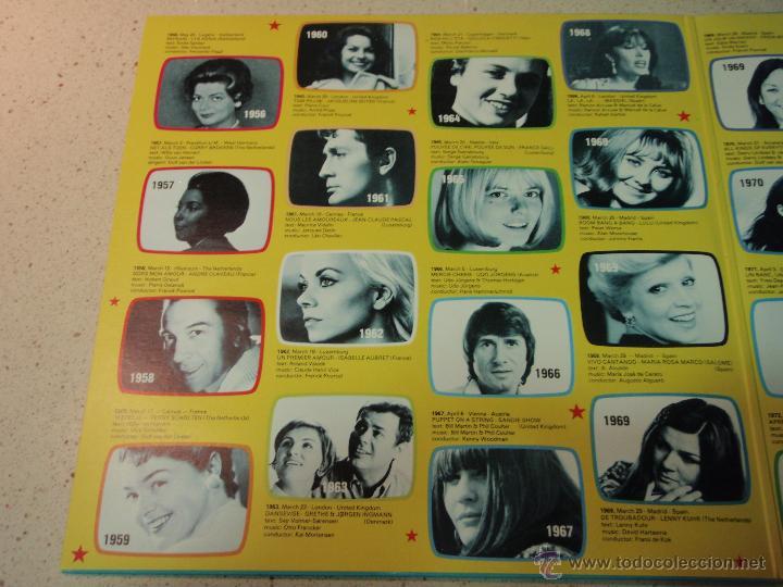 Discos de vinilo: Various ?– Eurovision Gala - 29 Winners - 29 Worldsuccesses 2LPS NORWAY 1981 RED CROSS - Foto 4 - 42291827