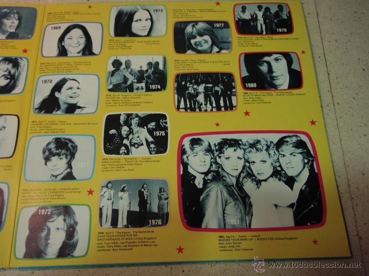 Discos de vinilo: Various ?– Eurovision Gala - 29 Winners - 29 Worldsuccesses 2LPS NORWAY 1981 RED CROSS - Foto 5 - 42291827