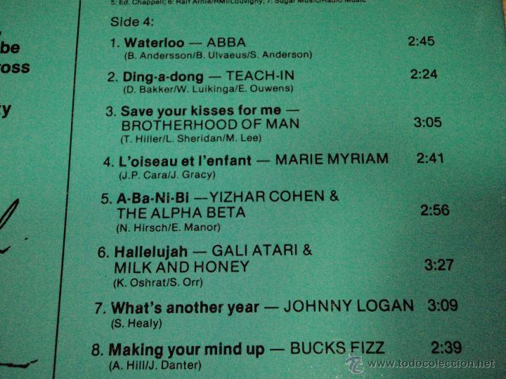 Discos de vinilo: Various ?– Eurovision Gala - 29 Winners - 29 Worldsuccesses 2LPS NORWAY 1981 RED CROSS - Foto 9 - 42291827