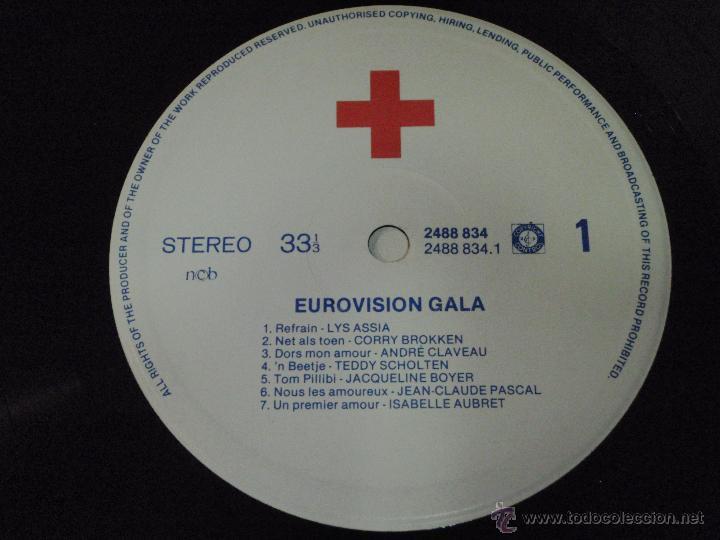 Discos de vinilo: Various ?– Eurovision Gala - 29 Winners - 29 Worldsuccesses 2LPS NORWAY 1981 RED CROSS - Foto 10 - 42291827