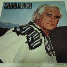 Discos de vinilo: CHARLIE RICH ( ONCE A DRIFTER ) NEW YORK-USA 1980 LP33 ELEKTRA. Lote 42292808