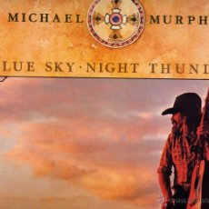 Discos de vinilo: MICHAEL MURPHEY LP BLUE SKY NIGHT THUNDER COUNTRY EE.UU.. Lote 42293168