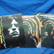 Discos de vinilo: - THE ROLLING STONES - PAINT IT BLACK - SINGLES COLLECTION - 2 DISCOS - POLYGRAM 1990 - SUPER RARO. Lote 42296254