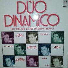 Discos de vinilo: MAGNIFICO LP DEL DUO DINAMICO, EXITOS INTERNACIONALES. Lote 42298757