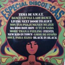 Discos de vinilo: MAGNIFICO LP DE ESPECIAL DISCOTECAS DEL AÑO 1977. Lote 42298917