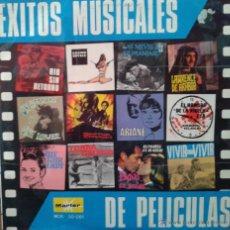 Discos de vinilo: MAGNIFICO LP DE EXITOS MUSICALES DEL AÑO 1969,. Lote 42298962