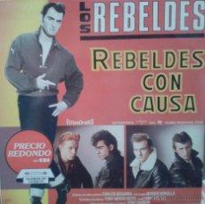Discos de vinilo: MAGNIFICO LP DE LOS REBELSDES- EN REBELDES CON CAUSA DEL AÑO 1985. Lote 42299298