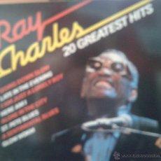 Discos de vinilo: MAGNIFICO LP DE - RAY - CHARLES - 20 GRANDES EXITOS-. Lote 42299504