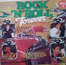 Discos de vinilo: MAGNIFICO LP DE - ROCJK - NROLL - FOREVER - VOL.2. Lote 42299794