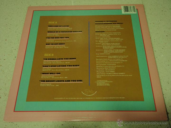 Discos de vinilo: The Whispers ?– This Kind Of Lovin, US 1981 Solar - Foto 2 - 42300386
