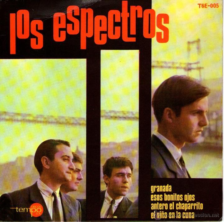 LOS ESPECTROS - EP SINGLE VINILO 7'' - GRANADA + 3 - DISCOS TEMPO - AÑO 1965 (Música - Discos de Vinilo - EPs - Grupos Españoles 50 y 60)