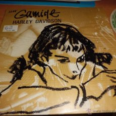 Discos de vinilo: GAMINE - HARLEY DAVIDSON PROMO CONTIENE EL FOLLETO DE PRENSA PARA LOCUTORES EXCELENTE ESTADO. Lote 42303572