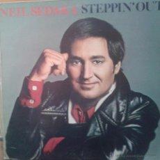 Discos de vinilo: MAGNIFICO LP DE - NEIL SEDAKA - STEPPIN´OUT -. Lote 42305235